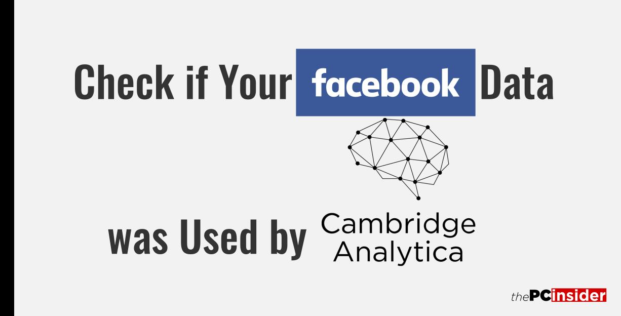 Facebook and Cambridge Analytica Data Leak Scandal