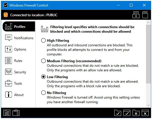 Best Free Firewall For Windows - Windows Firewall Control