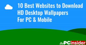 10 Best Websites to Download HD Desktop Wallpapers for PC & Mobile